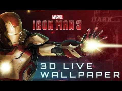 Video of Iron Man 3 Live Wallpaper