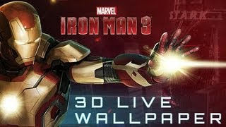 Iron Man 3 Live Wallpaper YouTube video