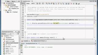 Java Application 3.Ders - Oluşturulan Formda 4 işlem