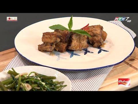 Công thức nấu ba rọi hập chao cực kỳ hấp dẫn | Khi Chàng Vào Bếp - Mùa 2 - Thời lượng: 86 giây.
