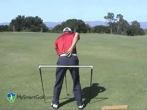 Golf instruction - Hip turn