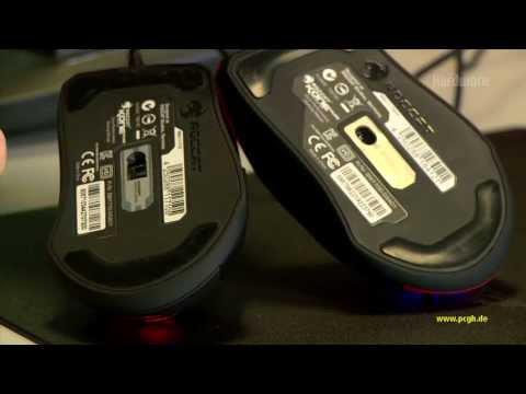 Laser versus Optical: Roccat Kone Pure im Vergleich