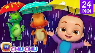 Video Rain Rain Go Away + More 3D Nursery Rhymes & Kids Songs - ChuChu TV MP3, 3GP, MP4, WEBM, AVI, FLV Maret 2019
