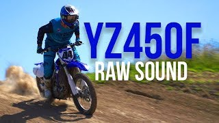 10. 2018 YAMAHA YZ450F RAW SOUND!!!