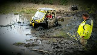 3. Canam Defender XMR - Hatfield and McCoy trails