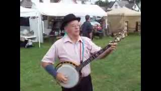 Mansfield (PA) United States  City pictures : Fabulous 1890's Event in Mansfield, Pa Banjo Man Jim Haner by Lonny Frost 2013
