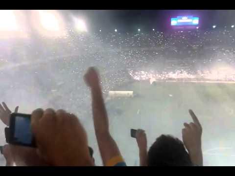Video - ingreso de Boca !!!! - La 12 - Boca Juniors - Argentina