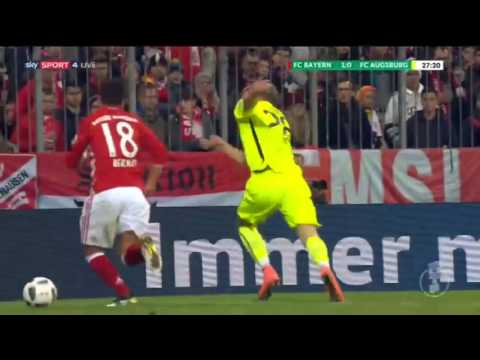 Bayern Munich vs Augsburg 3-1 All Goals & Highlights DFB Pokal 2016