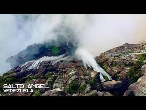 Menuda maravilla. El Salto Ángel de Venezuela grabado con un dron