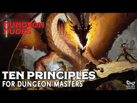 Ten Principles For Dungeon Masters In Dungeons And Dragons