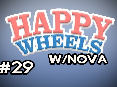 Happy Wheels w/Nova Ep.29 - Hardcore Parkour and Zombies! Video