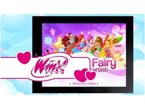Video of Winx –Club Fairy Artist!