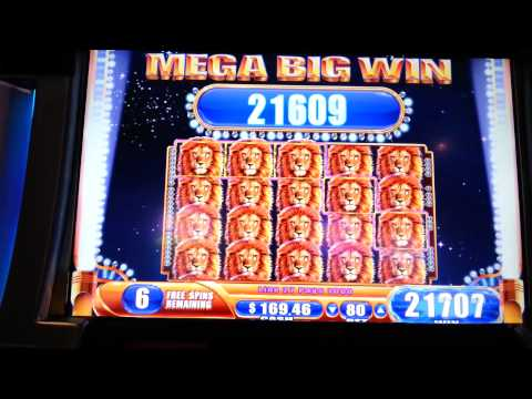 King of Africa Full Screen Mega Big Win Over 500x Bonus WMS Slot Machine