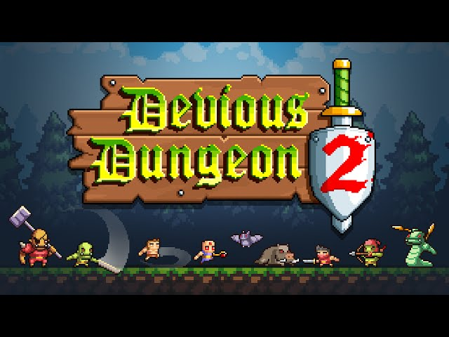 Devious Dungeon 2 - Android Trailer