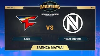 FaZe vs Team EnVyUs - DreamHack Marceille - map2 - de_overpass [Anishared, ceh9]