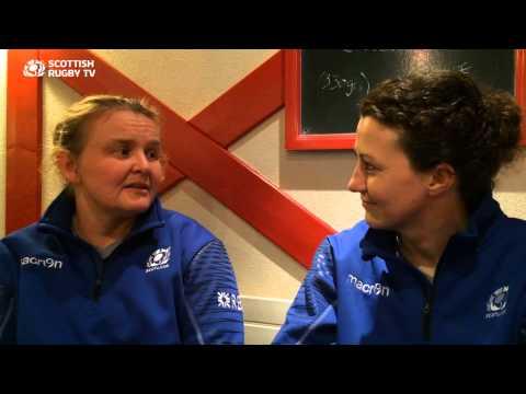Heather Lockhart & Nuala Deans   international sportswomen