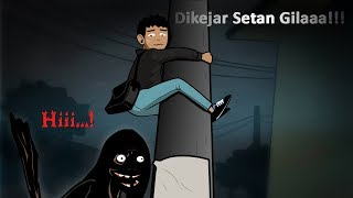 Video Dikejar Setan Gila!!! MP3, 3GP, MP4, WEBM, AVI, FLV Maret 2018