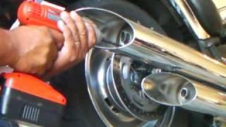 9. How To MOD Exhaust 2009 Vulcan 900 Custom 2 of 2