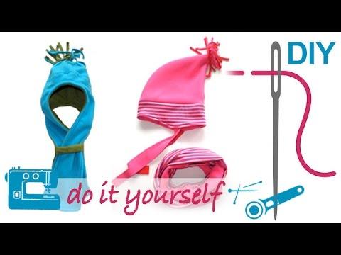 DIY Mütze, Kindermütze, einfache Mütze selber nähen. Nähen für Anfänger. Anleitung Mütze