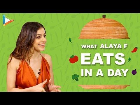 What I Eat In A Day with Alaya F | Secret of her Fitness & Beauty | Bollywood Hungama