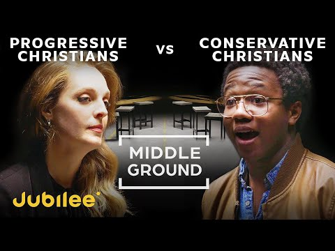Liberal Christians vs Conservative Christians   Middle Ground