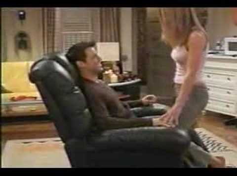joey bra - Jennifer Aniston Takes Bra Off.