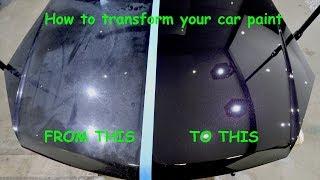 Video A GUIDE TO RESTORING CAR PAINT- (paint decontamination, paint correction & paint protection) MP3, 3GP, MP4, WEBM, AVI, FLV Juli 2019
