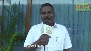 Senthil Kumar at Kizhakea Uthitha Kathal Movie Team Interview