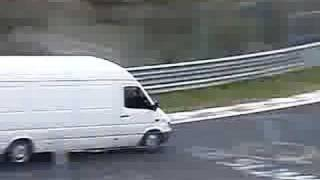White Van Man at the Ring