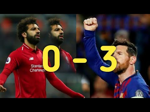 Barcelona 3 Vs 0 Arsenal Highlight Liga Champion Perempat Final Tadi Malam 02/02/2019