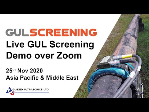 Live GUL Screening Demo over Zoom - 25th Nov 2020 - GUL Asia Pacific & Middle East