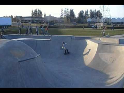 Skate Park #1, Evergreen, Vancouver Washington