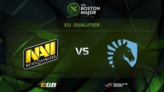 Na'Vi vs Liquid, Boston Major EU Qualifiers