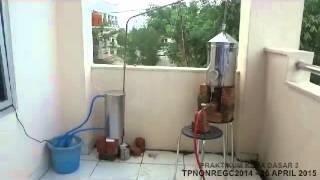 Alat Destilasi Sederhana - STT Migas Balikpapan