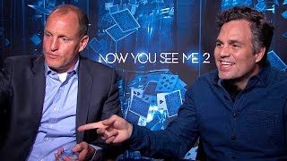 Woody Harrelson & Mark Ruffalo Talk 'Now You See Me 2' by Clevver Movies