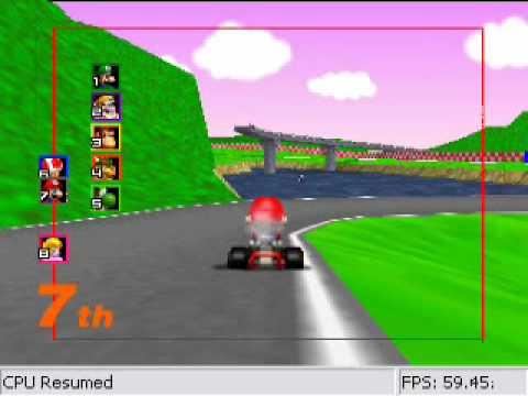 Mario Kart 64 Netplay (Offline) [Funny racers in Royal Raceway]