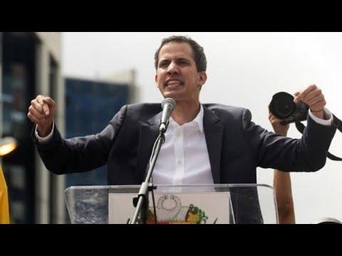 Venezuela: Guaidó gegen Maduro - Szenen der Machtprobe