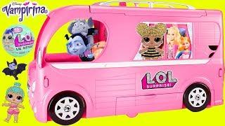 Video Don't Wake Vampirina Barbie Camper LOL Surprise Dolls Airplane Routine Sister Pool Slumber Party! MP3, 3GP, MP4, WEBM, AVI, FLV Oktober 2017