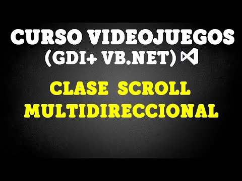💻Curso Videojuegos - Scroll Multidireccional