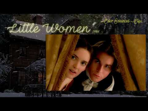 """Little Women 1994 - """"Artists and Vagrants"""" (Color Enhanced Clips) HD"""