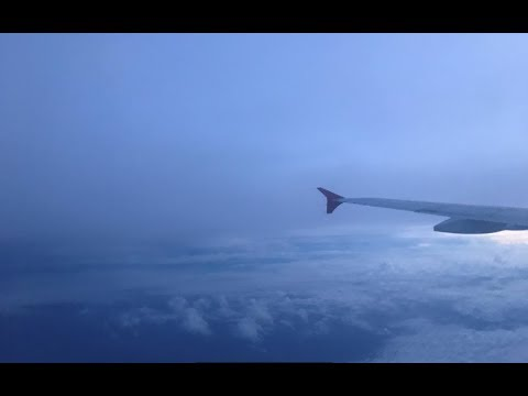 Landing To Changi Airport, Singapore Hd