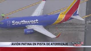 Avión se sale de la autopista en Hollywood Burbank – Noticias 62 - Thumbnail