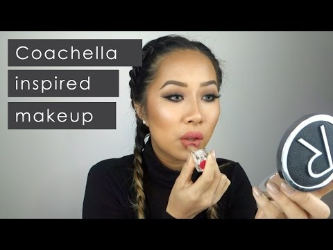 Coachella/Festival Inspired Makeup Tutorial