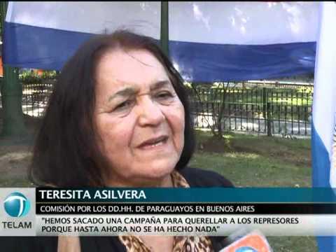 Recuerdan en Buenos Aires a los paraguayos desaparecidos durante la dictadura