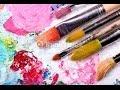 Técnica de Uso del Pincel para Pintar Flores - Hogar Tv
