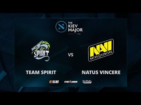Team Spirit vs Na'Vi, Game 1, The Kiev Major CIS Main Qualifiers Play-off