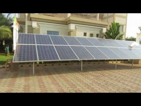 Solar Energy Guide for Beginners – Roof top solar panel installation.