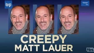 These awkward Matt Lauer moments are resurfacing