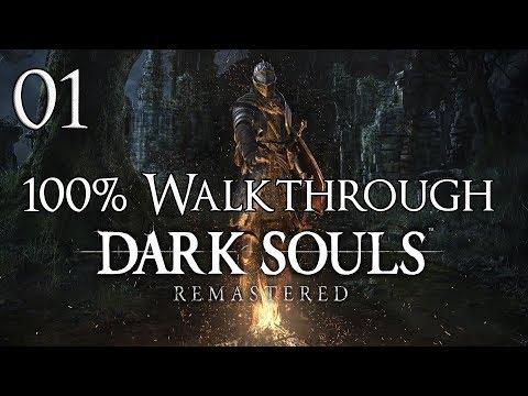 Dark Souls Remastered - Walkthrough Part 1: Firelink Shrine