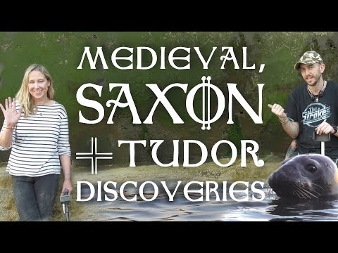 Medieval, Saxon and Tudor finds - metal detecting on the Thames Foreshore